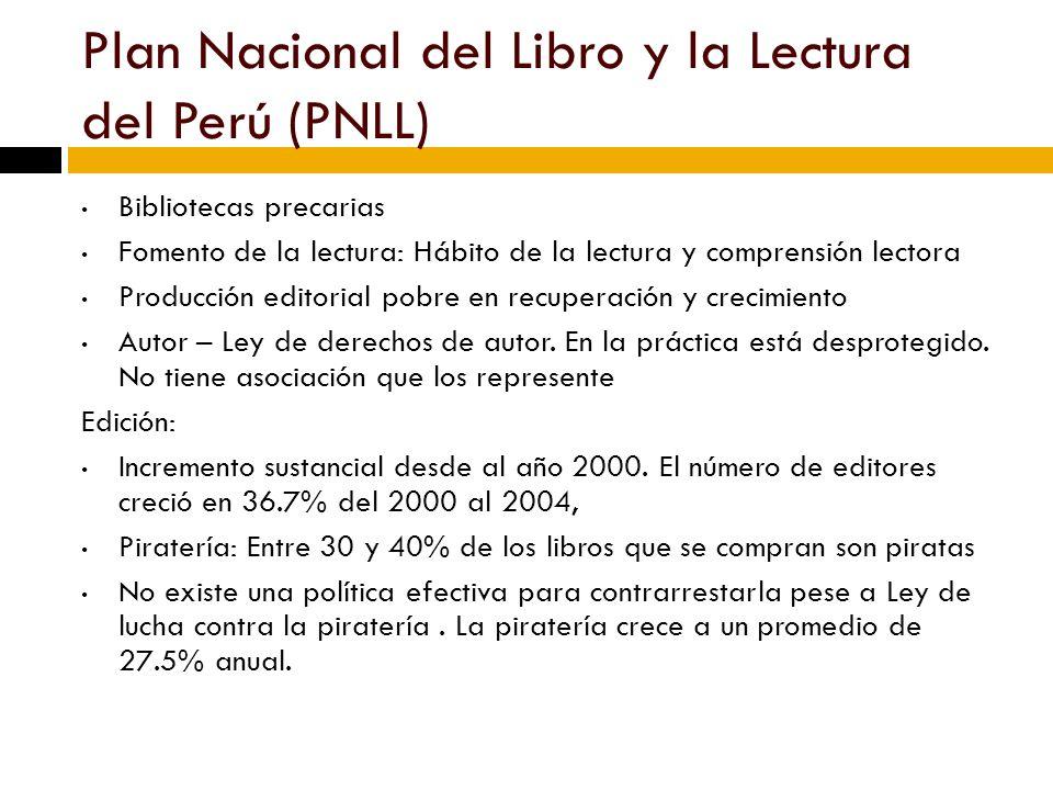 Plan Nacional del Libro y la Lectura del Perú (PNLL)