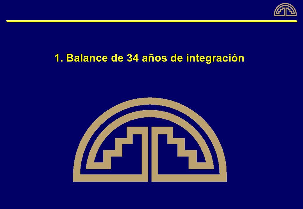 1. Balance de 34 años de integración