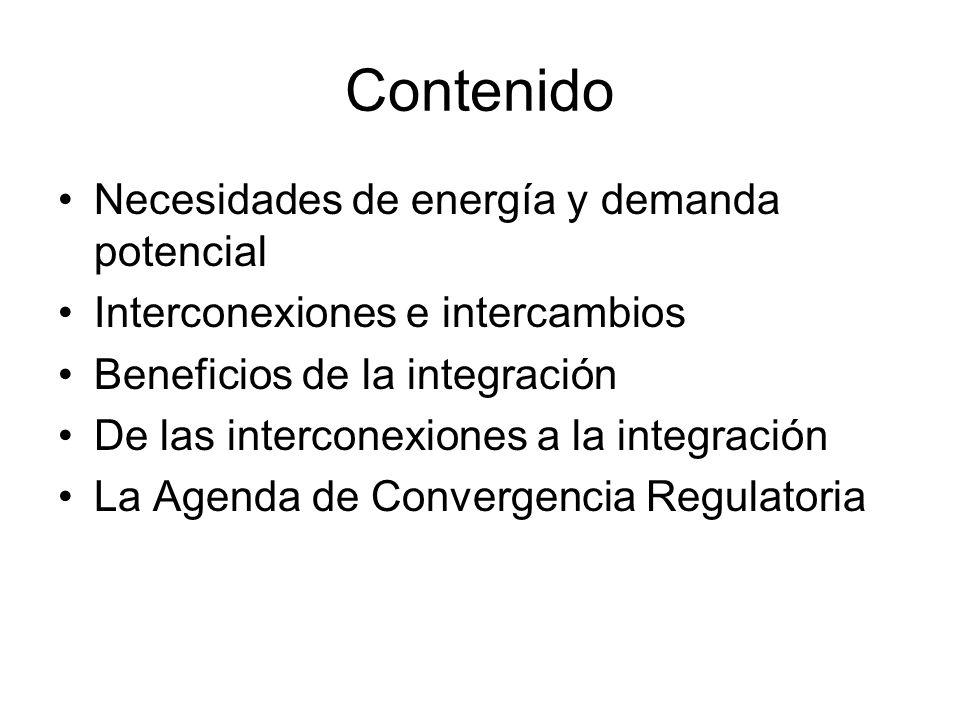 Contenido Necesidades de energía y demanda potencial