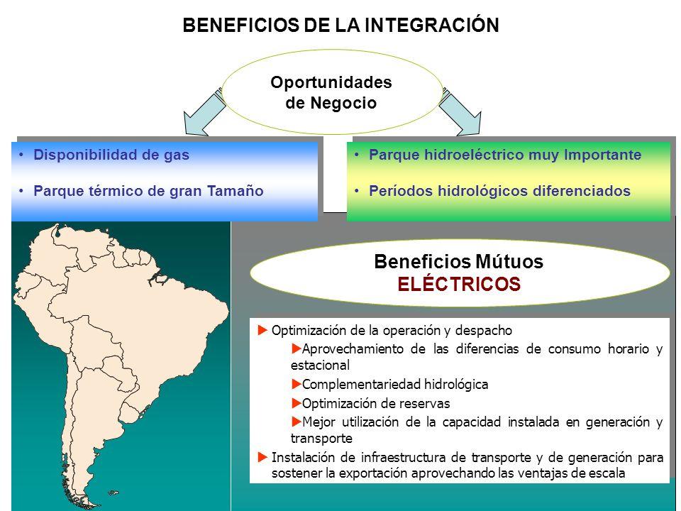 BENEFICIOS DE LA INTEGRACIÓN Oportunidades de Negocio