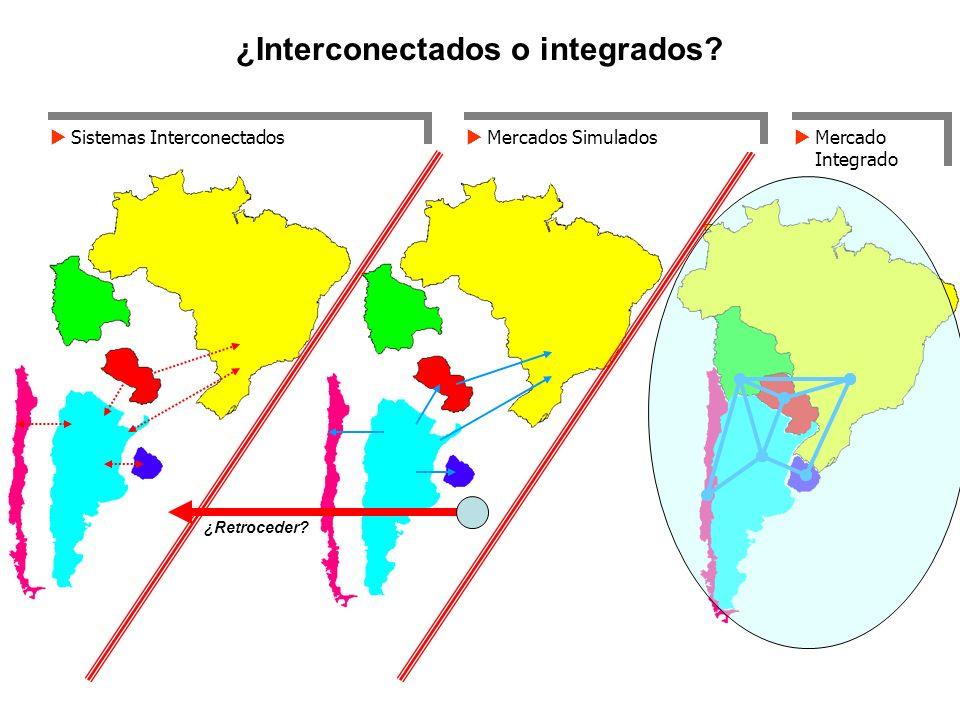 ¿Interconectados o integrados