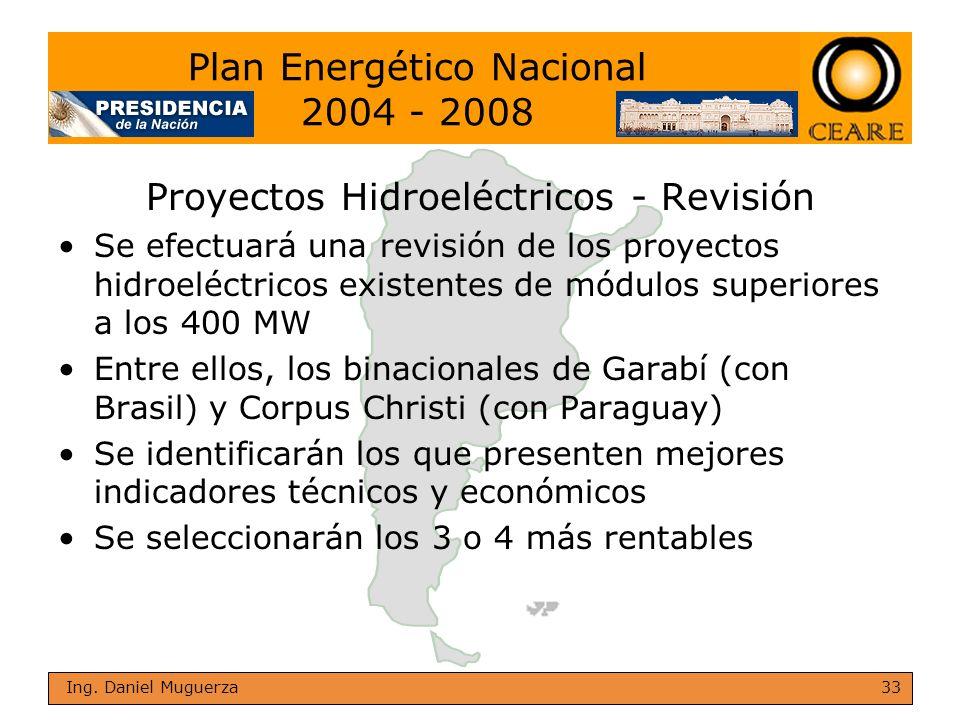 Plan Energético Nacional 2004 - 2008