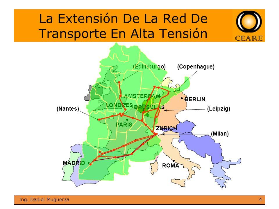 La Extensión De La Red De Transporte En Alta Tensión