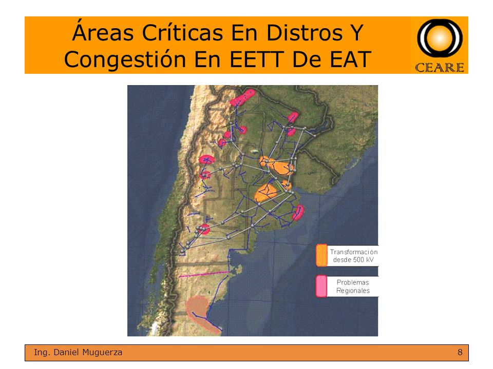 Áreas Críticas En Distros Y Congestión En EETT De EAT