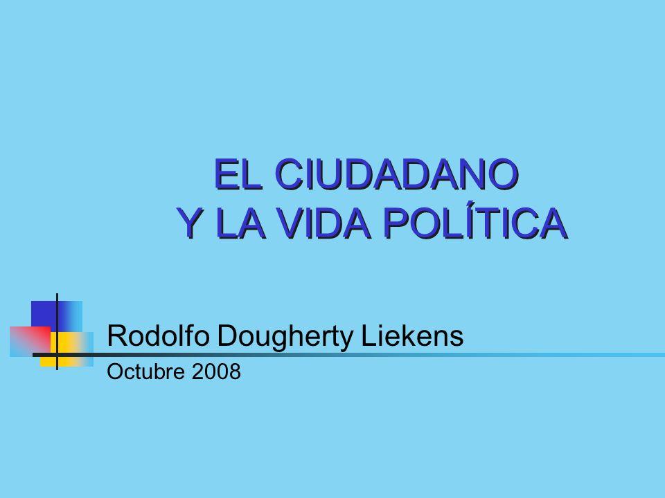 EL CIUDADANO Y LA VIDA POLÍTICA