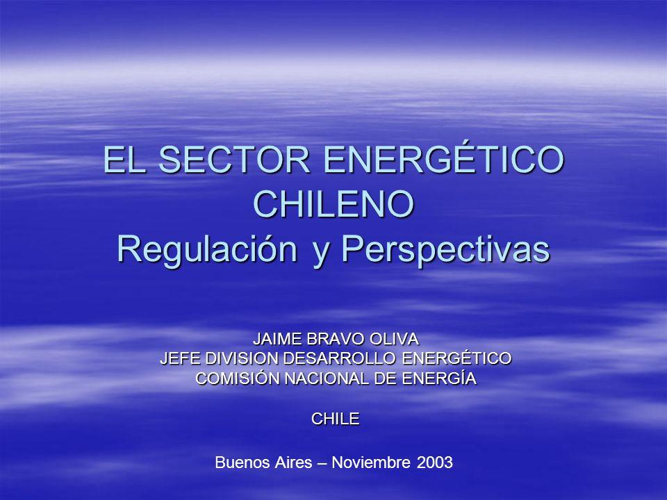 EL SECTOR ENERGÉTICO CHILENO Regulación y Perspectivas