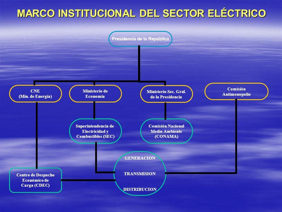 MARCO INSTITUCIONAL DEL SECTOR ELÉCTRICO