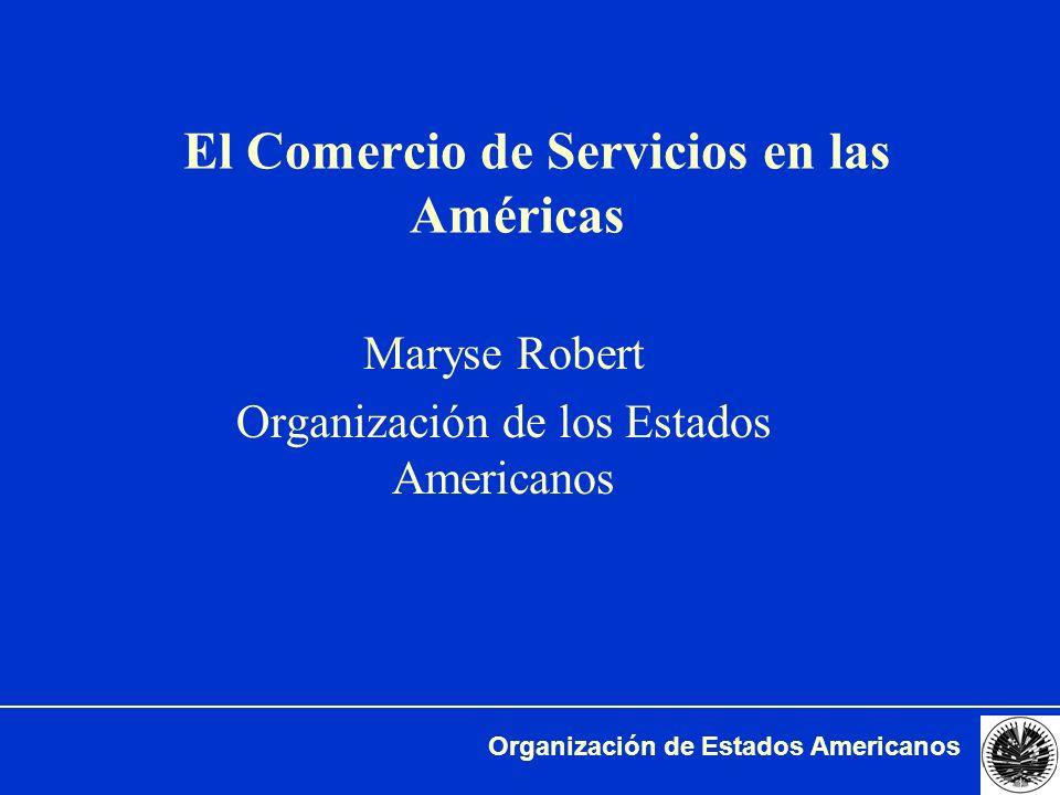 El Comercio de Servicios en las Américas