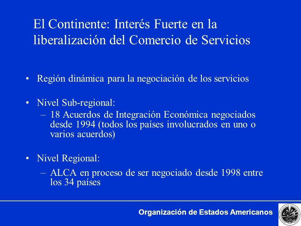 El Continente: Interés Fuerte en la liberalización del Comercio de Servicios