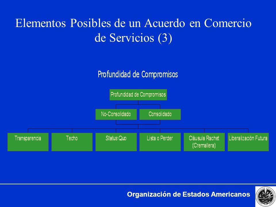 Elementos Posibles de un Acuerdo en Comercio de Servicios (3)
