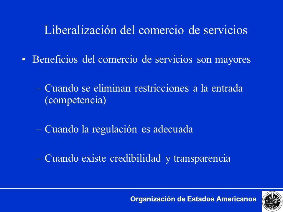 Liberalización del comercio de servicios