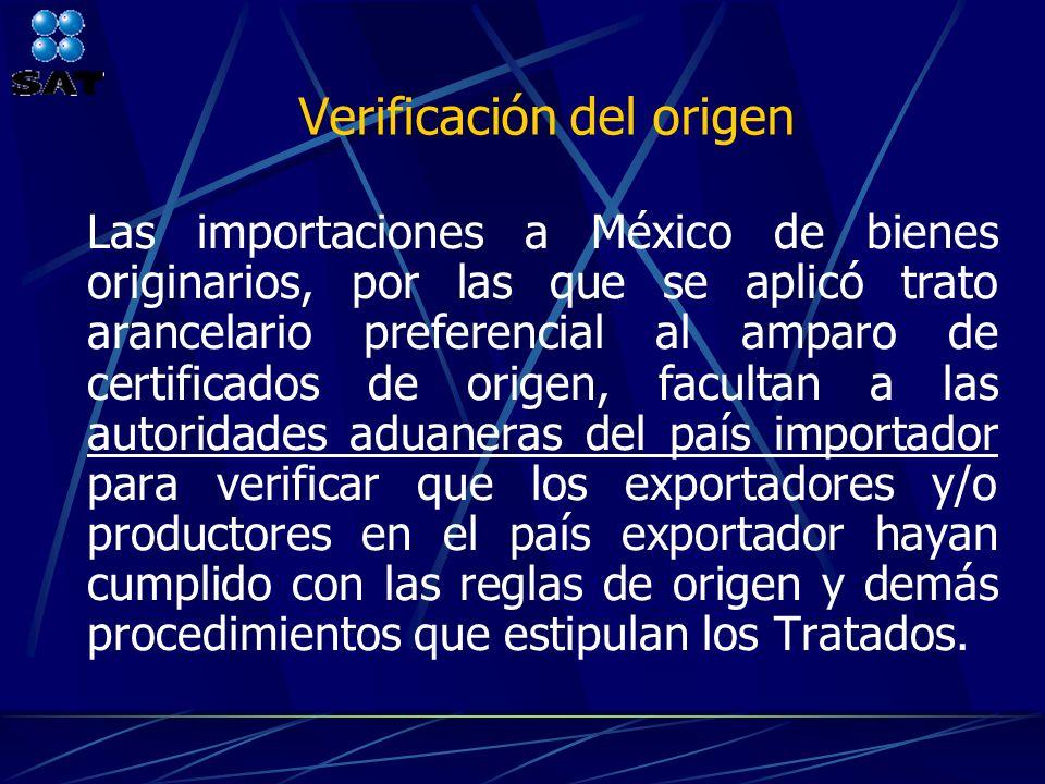 Verificación del origen