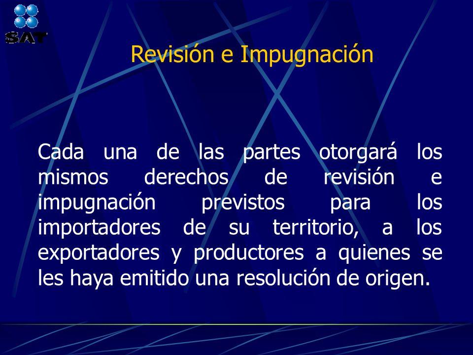 Revisión e Impugnación