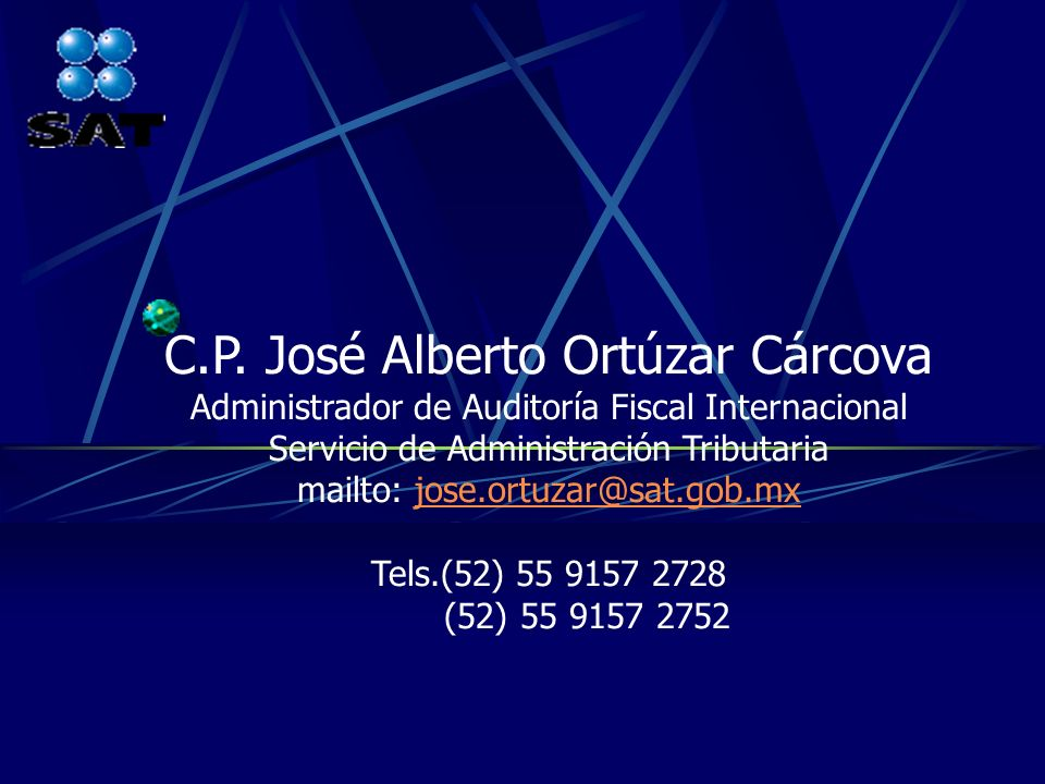 C.P. José Alberto Ortúzar Cárcova