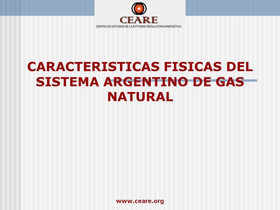 CARACTERISTICAS FISICAS DEL SISTEMA ARGENTINO DE GAS NATURAL