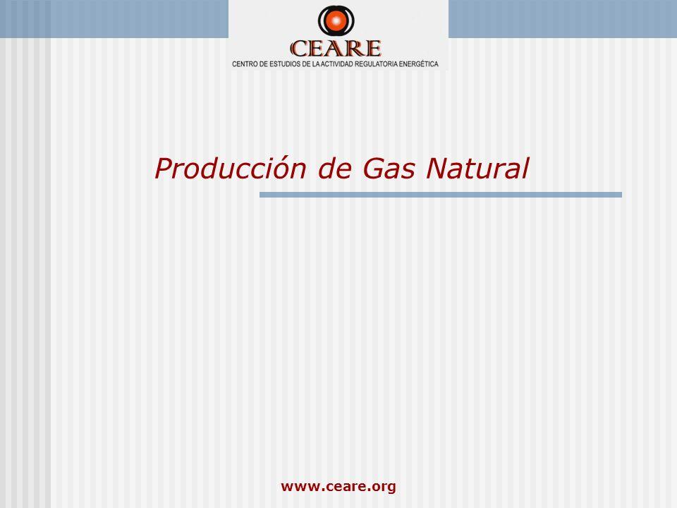 Producción de Gas Natural