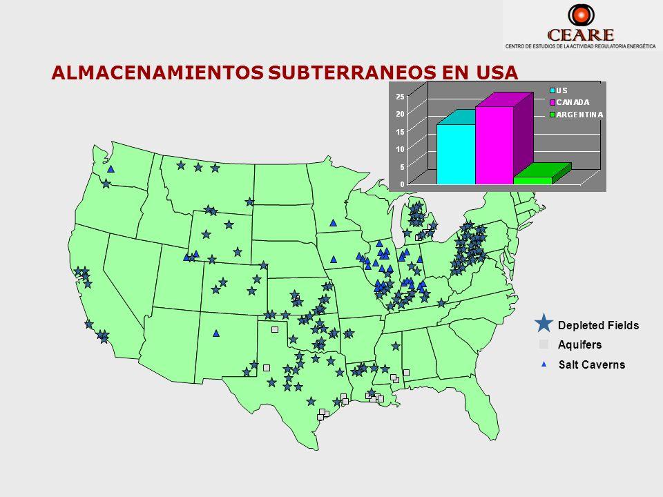 ALMACENAMIENTOS SUBTERRANEOS EN USA