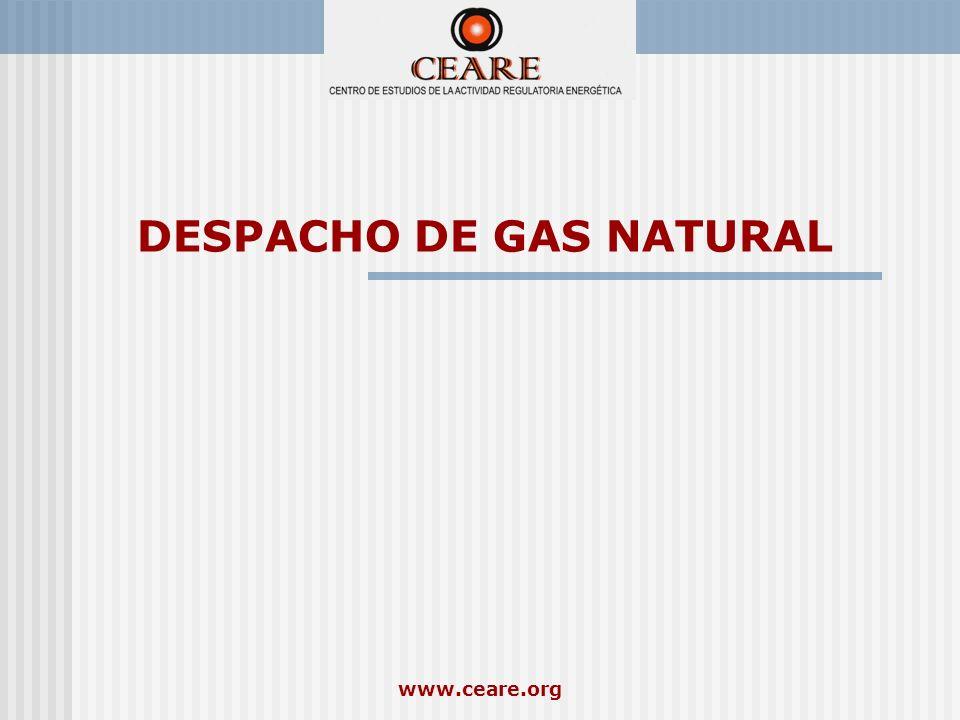 DESPACHO DE GAS NATURAL