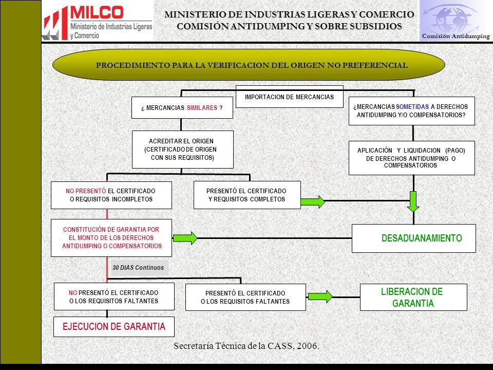 LIBERACION DE GARANTIA EJECUCION DE GARANTIA