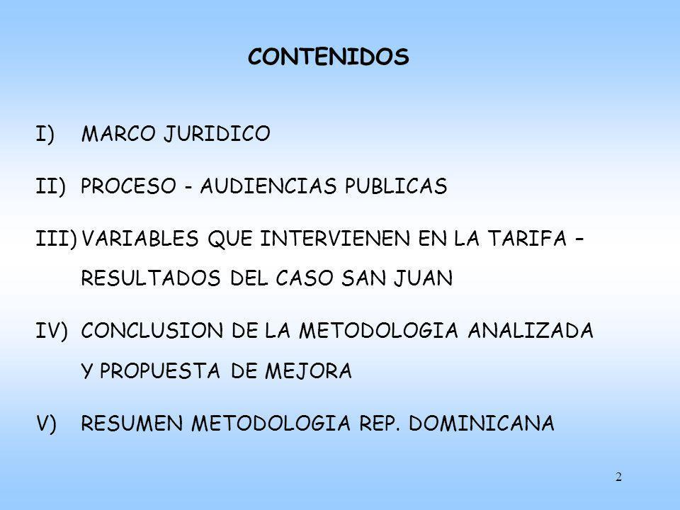CONTENIDOS MARCO JURIDICO PROCESO - AUDIENCIAS PUBLICAS