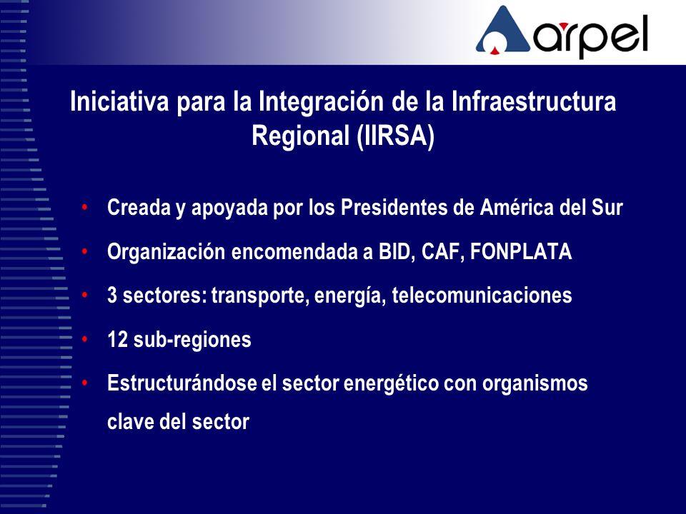Iniciativa para la Integración de la Infraestructura Regional (IIRSA)