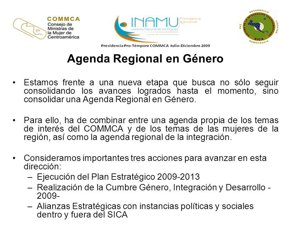 Agenda Regional en Género