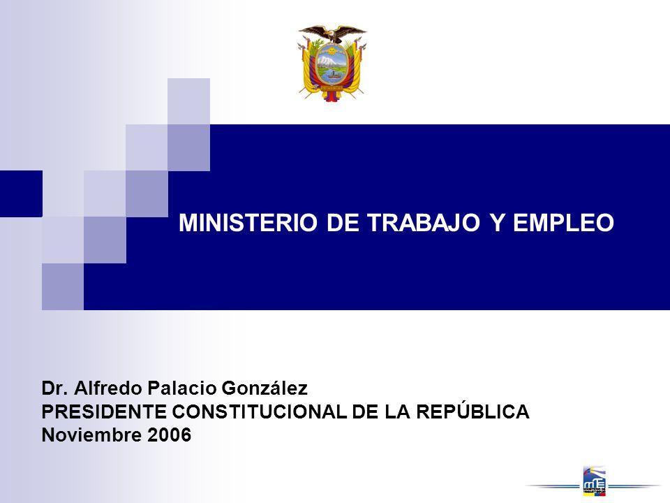 MINISTERIO DE TRABAJO Y EMPLEO