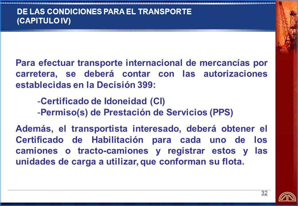 Certificado de Idoneidad (CI)