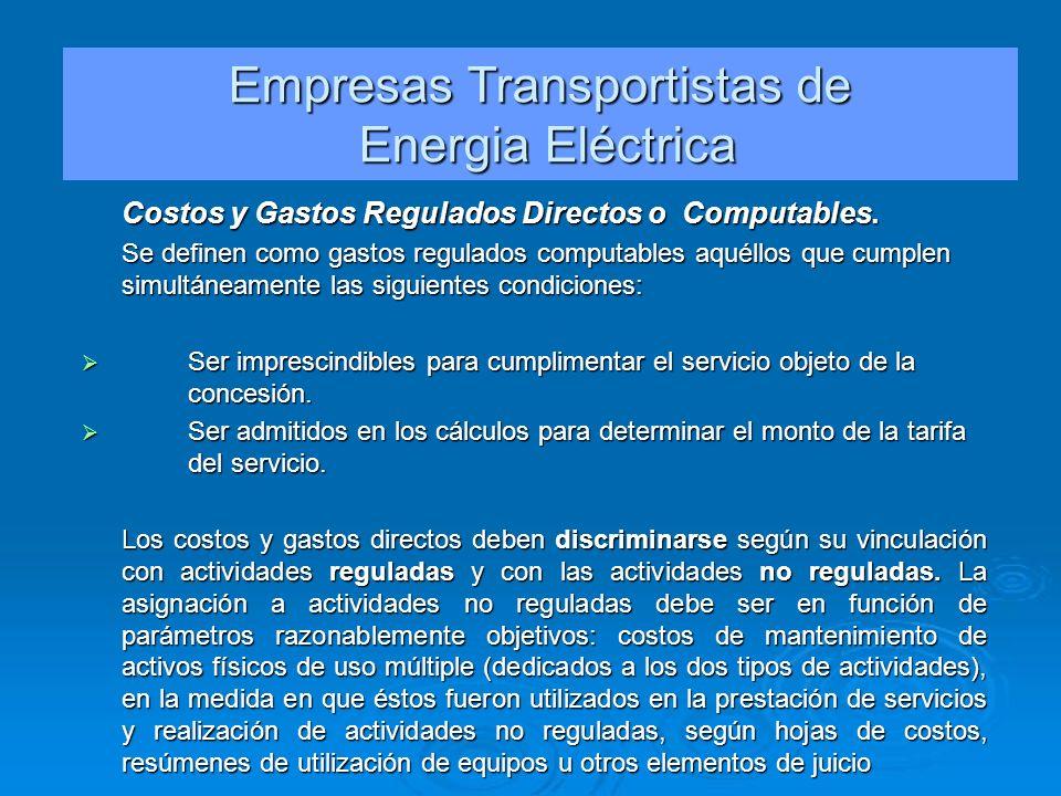 Empresas Transportistas de
