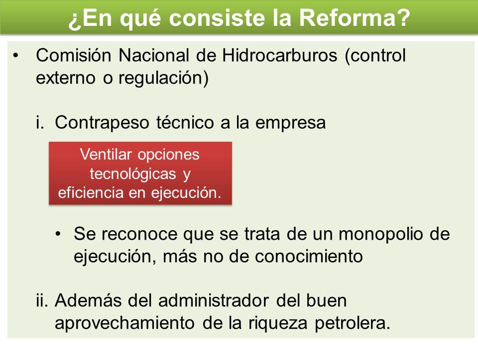 ¿En qué consiste la Reforma