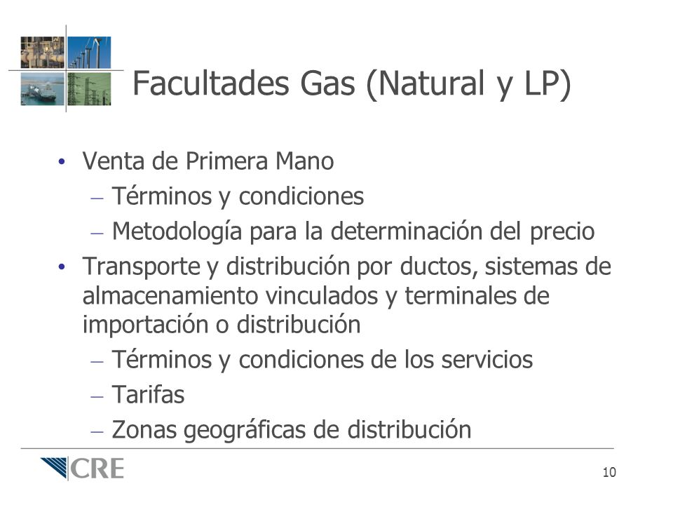 Facultades Gas (Natural y LP)