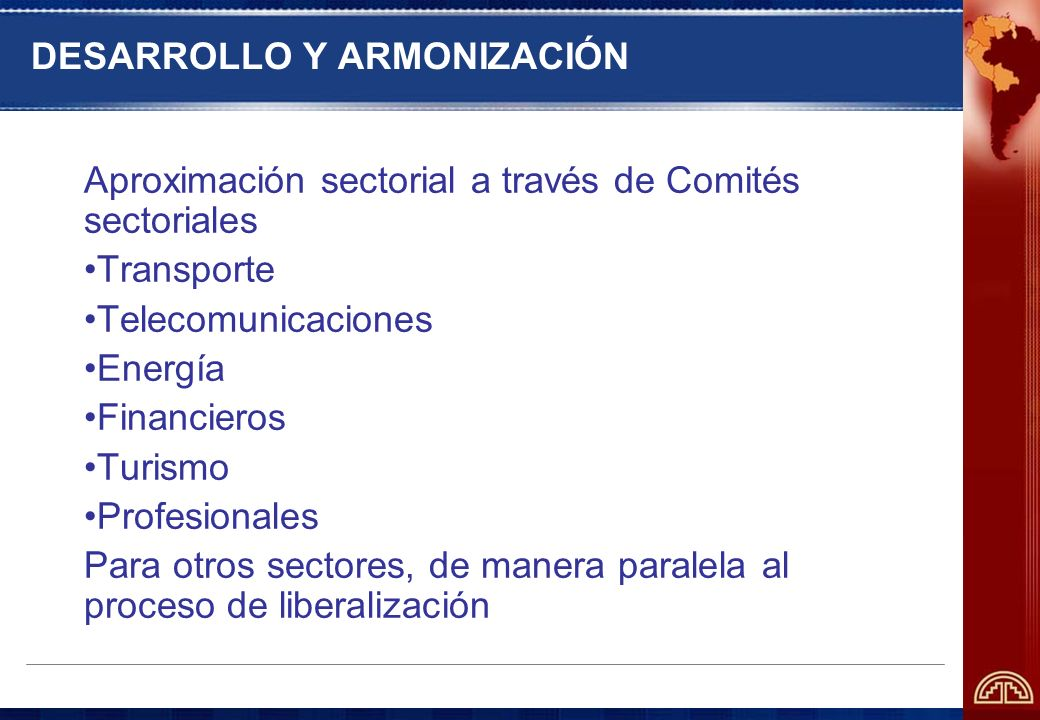 DESARROLLO Y ARMONIZACIÓN