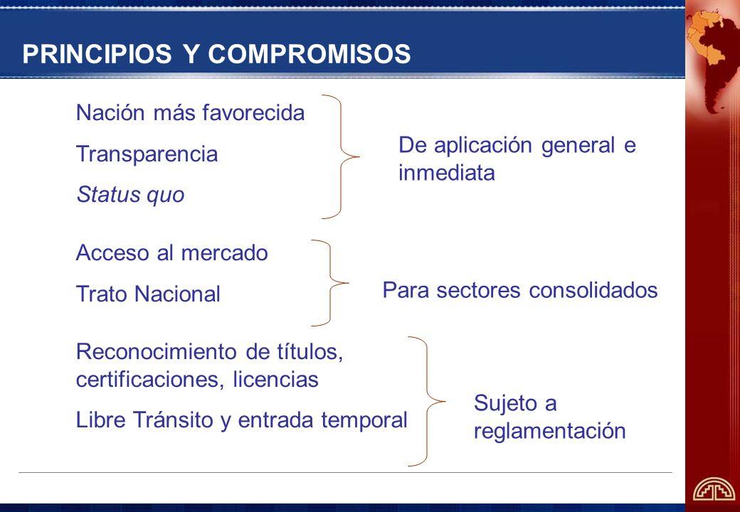 PRINCIPIOS Y COMPROMISOS