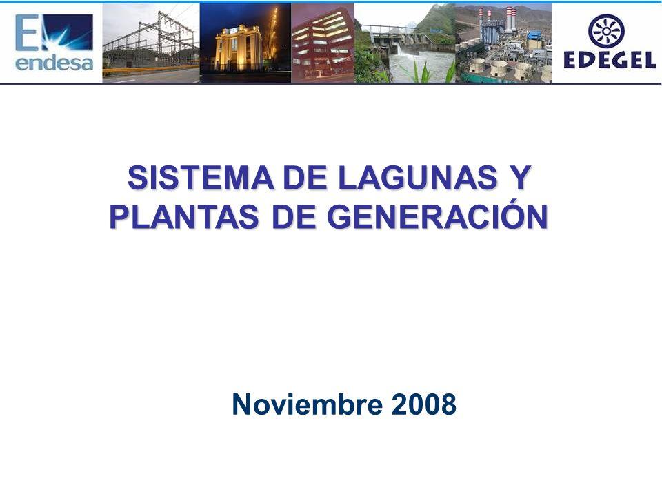 SISTEMA DE LAGUNAS Y PLANTAS DE GENERACIÓN