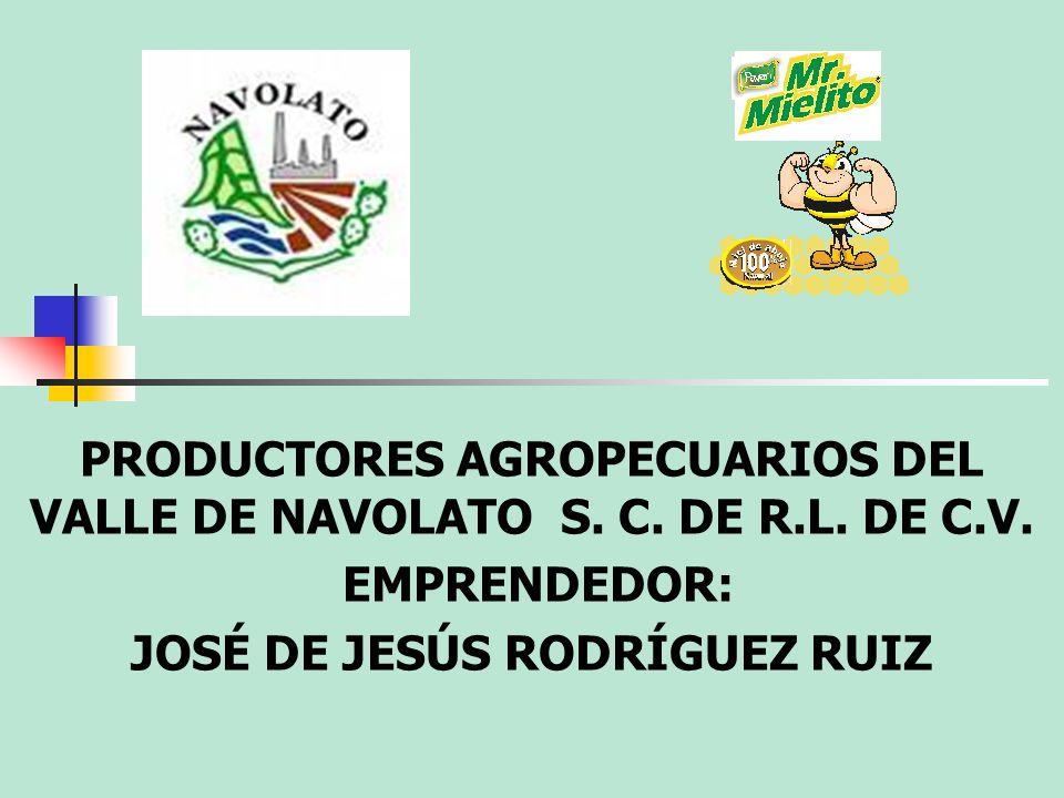 PRODUCTORES AGROPECUARIOS DEL VALLE DE NAVOLATO S. C. DE R.L. DE C.V.