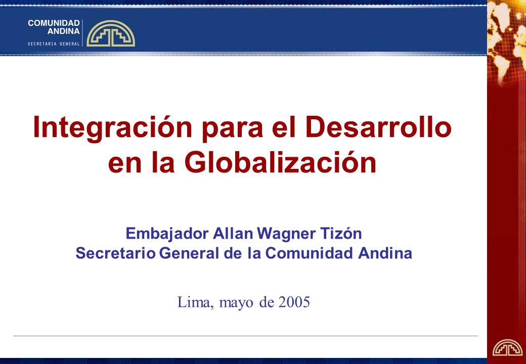 Integración para el Desarrollo en la Globalización