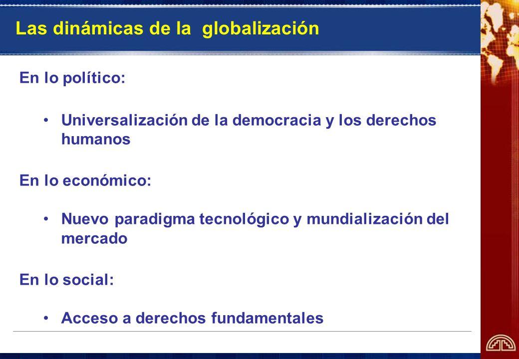 Las dinámicas de la globalización