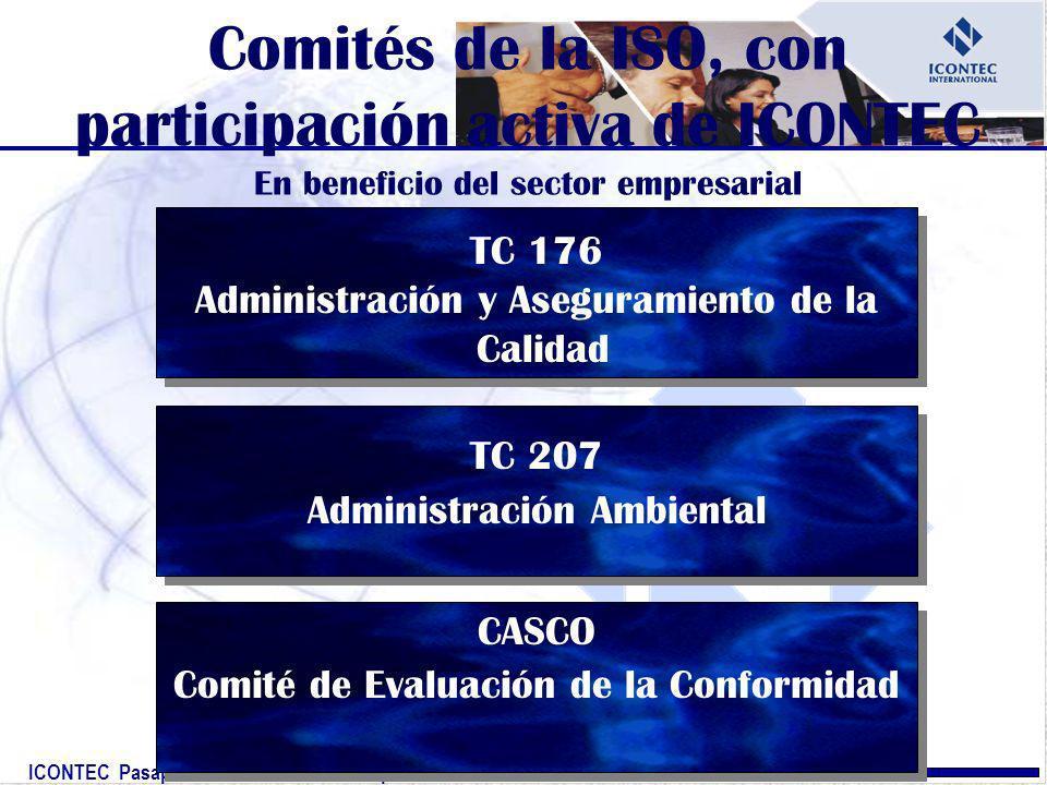 Comités de la ISO, con participación activa de ICONTEC En beneficio del sector empresarial