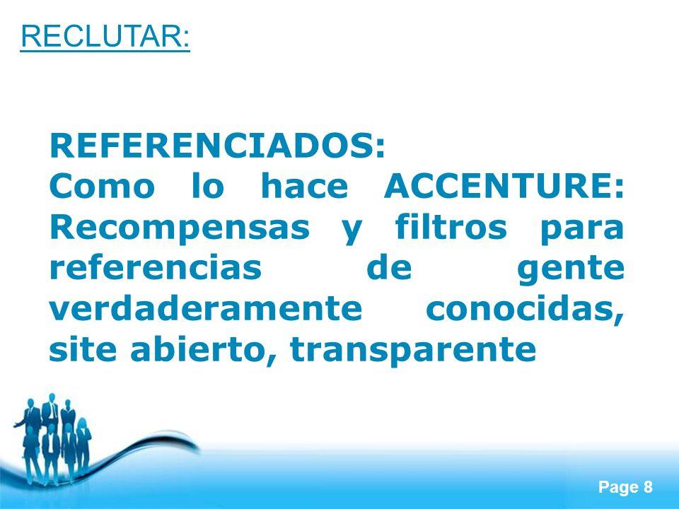 RECLUTAR:REFERENCIADOS: