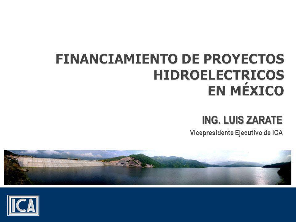 FINANCIAMIENTO DE PROYECTOS HIDROELECTRICOS EN MÉXICO