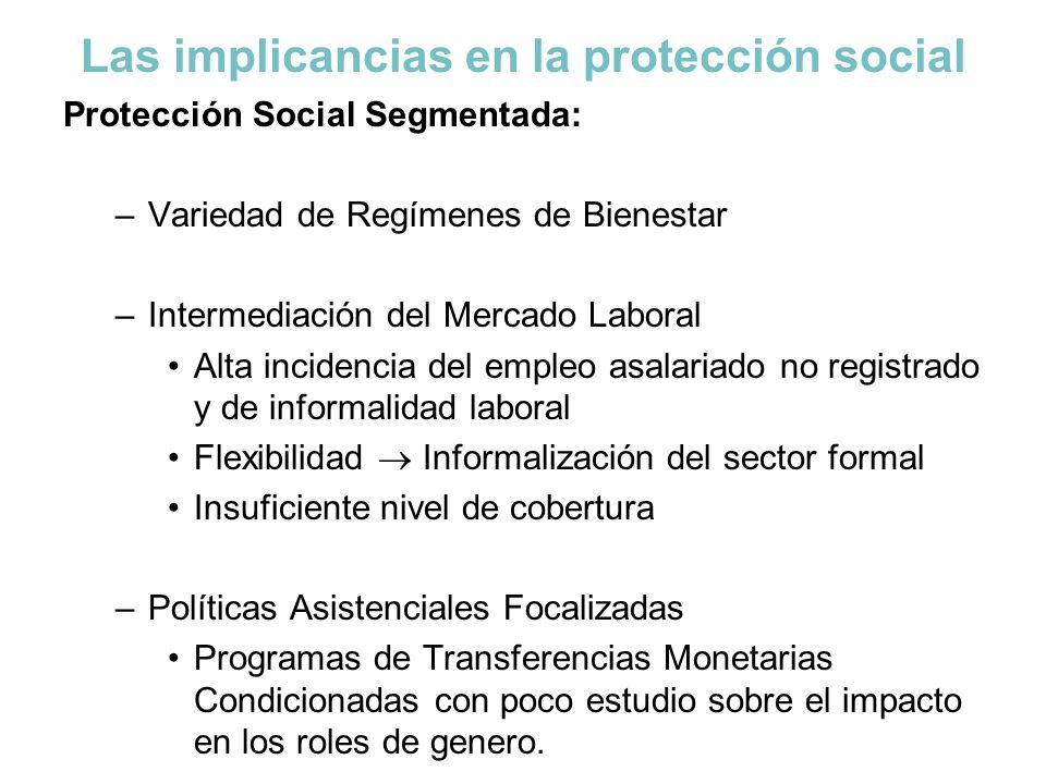 Las implicancias en la protección social