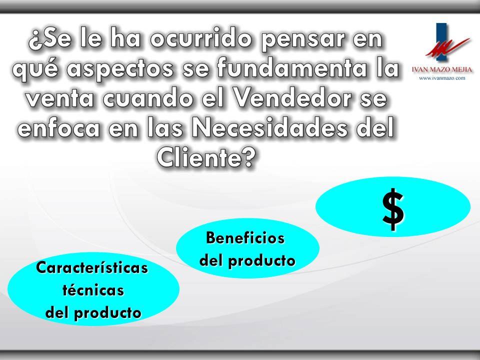 $ Beneficios del producto Características técnicas del producto