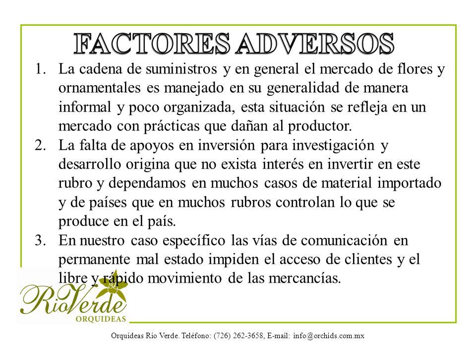 FACTORES ADVERSOS