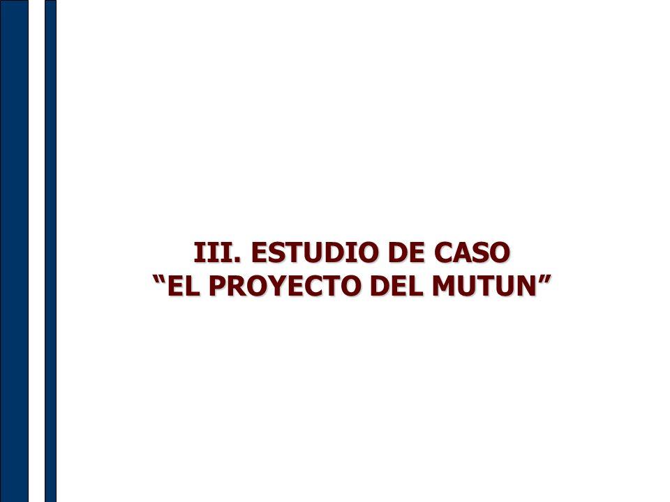 EL PROYECTO DEL MUTUN