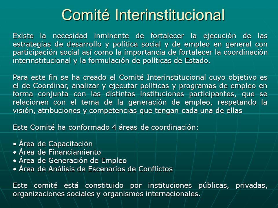 Comité Interinstitucional