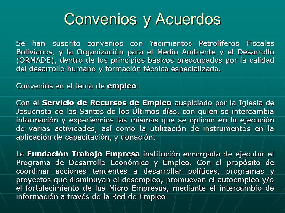 Convenios y Acuerdos