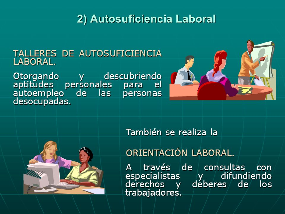 2) Autosuficiencia Laboral
