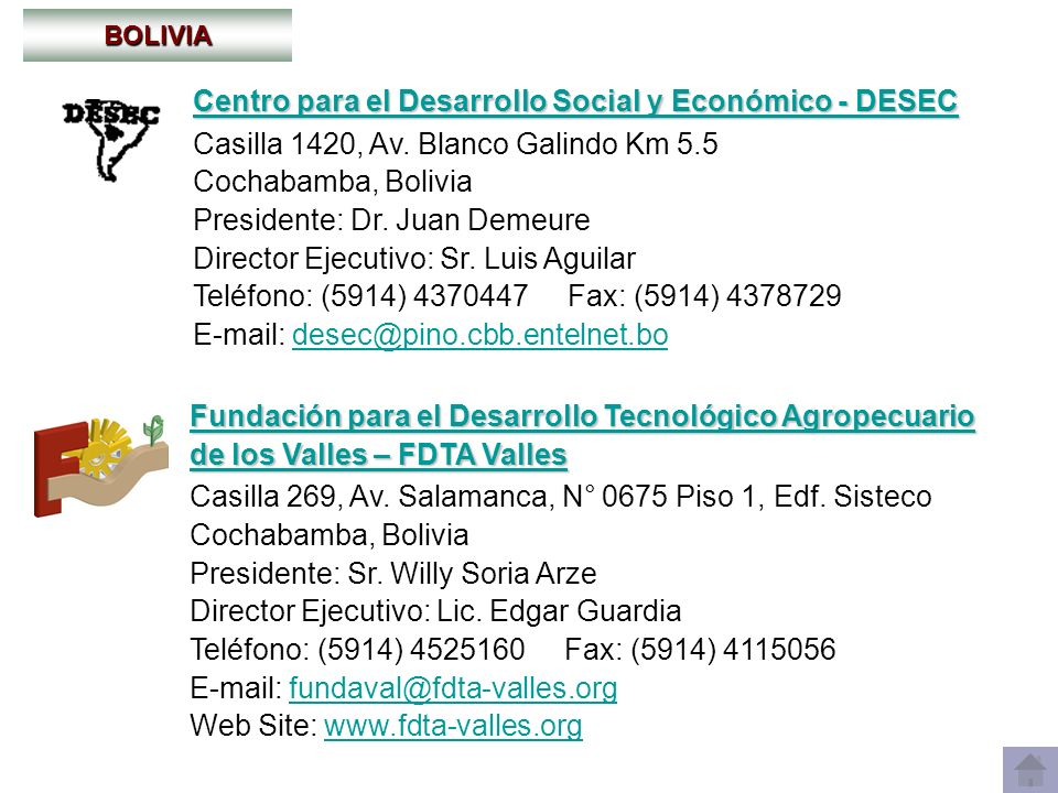 Centro para el Desarrollo Social y Económico - DESEC