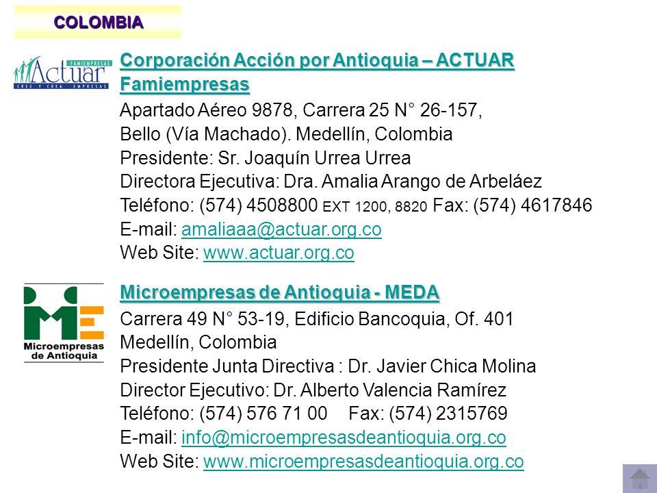 Corporación Acción por Antioquia – ACTUAR Famiempresas