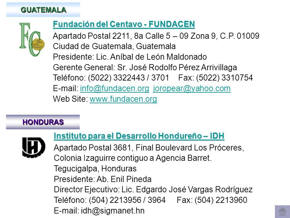 Fundación del Centavo - FUNDACEN